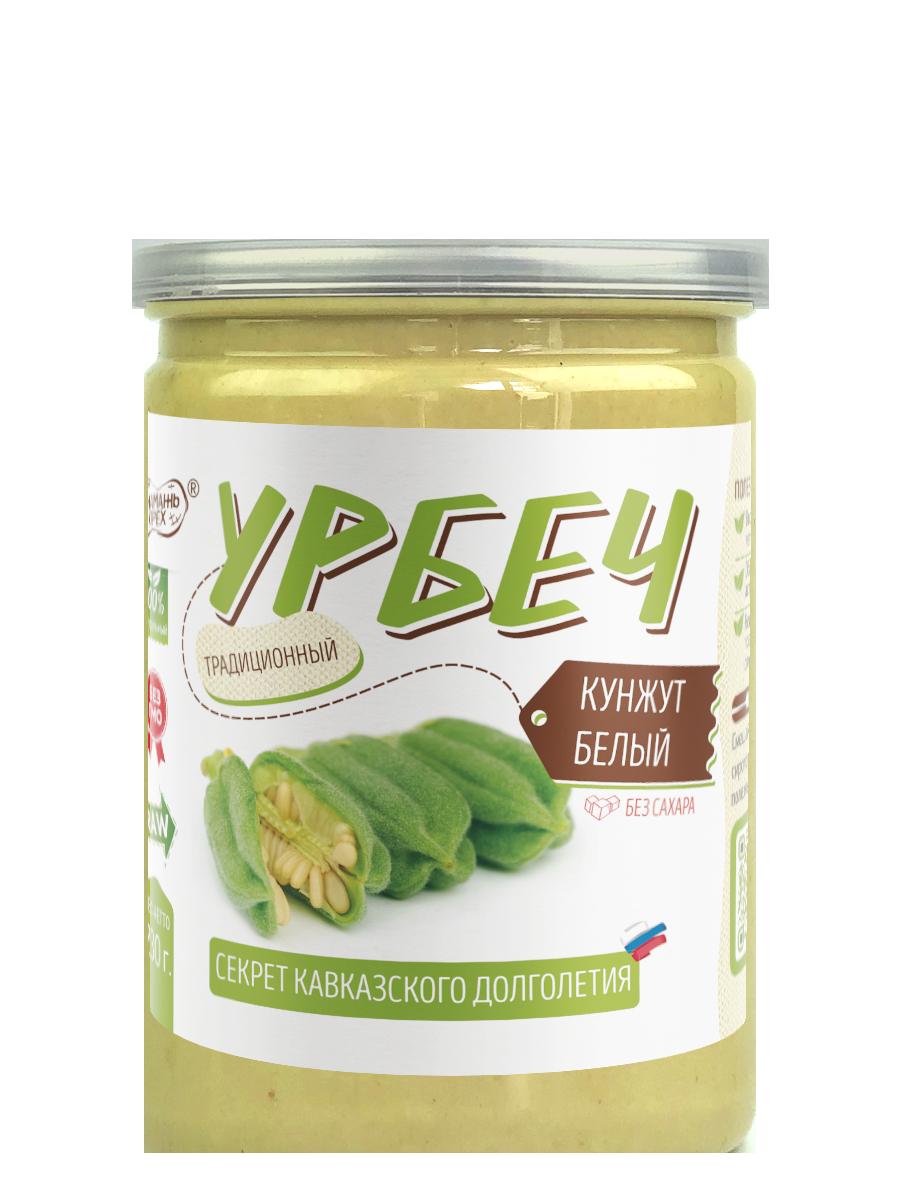 Урбеч из семян кунжута без сахара от  Намажь_орех